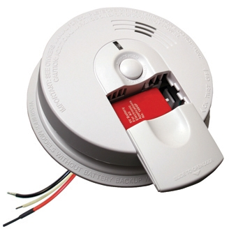 Firex i4618 A 21007583 120V AC DC Smoke Alarm with 9V