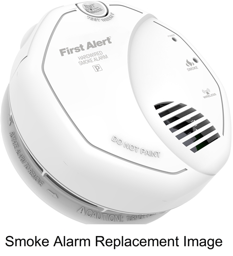 brk electronics first alert sa520 120v acdc wireless onelink smoke alarm bridge unit upgraded to sa520b - First Alert Smoke Alarm