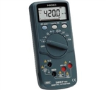 Hioki 3257-50 Digital Multimeter with True RMS up to CAT III 1000V, 4200 count display