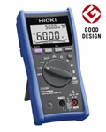 Hioki DT4255 Digital Multimeter with Fuse-protected Terminals Ideal for Harsh Work Environments