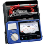 Hioki IR4018-20 Analog Megohmmeter Single Range Insulation Tester up to 1000V, 2000 MOhm with Hard-case in a body