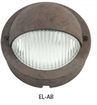 Hubbell Outdoor Lighting EL-AB 1.5W LED Eyelid Lightscraper Landscape Light, Die Cast Aluminum, Antique Bronze Finish