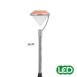 hubbell outdoor lighting sa pt 1 5w led saturn lightscraper landscape