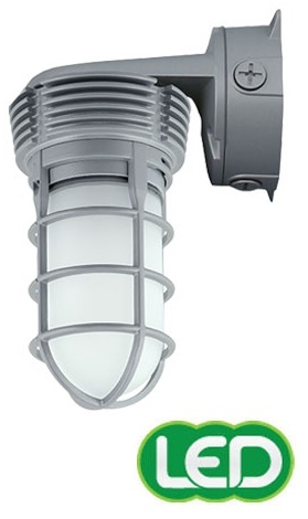 Outdoor lighting vwgl 1 11w vaporite led globe refractor wall hubbell outdoor lighting vwgl 1 11w vaporite led globe refractor wall mount 120 277v 4100k 757 lumens aloadofball Images