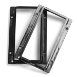 Insteon 2401BK Color Frame Kit for KeypadLinc, Black