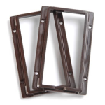Insteon 2401BR Color Frame Kit for KeypadLinc, Brown