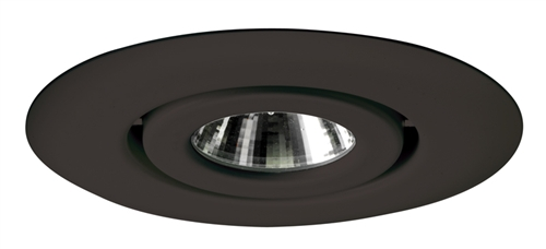 Juno Recessed Lighting 440-BL (440 BL) 4  Line Voltage Low Voltage Flush Gimbal Ring Trim GU10 Base Black Trim  sc 1 st  Electric Bargain Store & Juno Recessed Lighting 440-BL (440 BL) 4