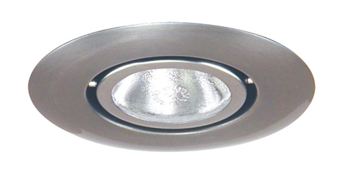 Juno Recessed Lighting 440-SC (440 SC) 4  Line Voltage Low Voltage Flush Gimbal Ring Trim GU10 Base Satin Chrome Trim  sc 1 st  Electric Bargain Store & Juno Recessed Lighting 440-SC (440 SC) 4