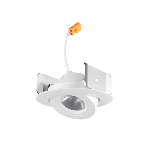 Juno Recessed Lighting 4RLA-927-6-N-WH 4  LED Retrofit Trim 2700K 90 CRI 634 lumens Narrow Flood White Finish  sc 1 st  Electric Bargain Store & Juno Recessed Lighting 4RLA-927-6-N-WH 4