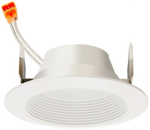 Juno Recessed Lighting 4RLD-930-6-WWH Downlight 4  LED Retrofit Baffle Trim 3000K 90 CRI 650 Lumens White Finish  sc 1 st  Electric Bargain Store & Juno Recessed Lighting 4RLD-930-6-WWH Downlight 4