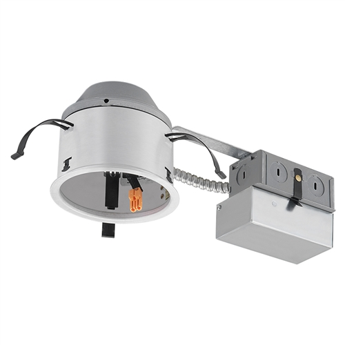 Juno Recessed Lighting IC1RALEDG4-6-1 4  LED Adjustable Remodel IC Type Recessed Housing Dedicated Driver 120V ELV Dimmable  sc 1 st  Electric Bargain Store : 4 recessed lighting housing - azcodes.com