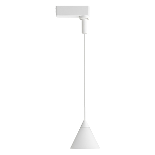 White Pendant Track Lighting: Juno Track Lighting Pendants