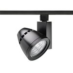Juno Track Lighting T265L-35K-HC-S-BL Conix II 40W Dimmable 90 CRI LED Track Fixture 3500K, Spot, Black Finish