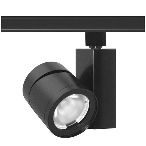 vertical track lighting. Juno Track Lighting T383L-3NBL 24W Vertical Cylinder LED, 3000K Color Temperature, 80 CRI, Narrow Flood L