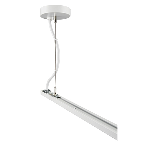 Track lighting t598 144 wh t598 144in wh 144 rigid ceiling juno track lighting t598 144 wh t598 144in wh 144 rigid ceiling cable suspension or feed kit aloadofball Image collections