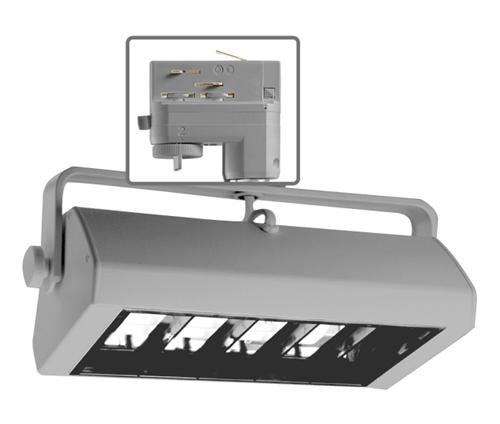 Juno Commercial Track Lighting: Juno HD Commercial Track Lighting TEKBX18ESL (TBX TEK 18E
