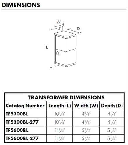 juno track lighting tf5300bl magxfmr 1c 300w 120 12ac bl trac 12 rh electricbargainstores com Transformer Hook Up Diagrams Transformer Connection Diagrams