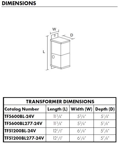 juno track lighting tf5600bl 24v magxfmr 1c 600w 120 24ac bl trac rh electricbargainstores com 480 to 240 Transformer Wiring 480 to 240 Transformer Wiring