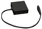 Juno Undercabinet Lighting ULH-DWM-BL (UDWM BL) Direct Wire Module Black Finish