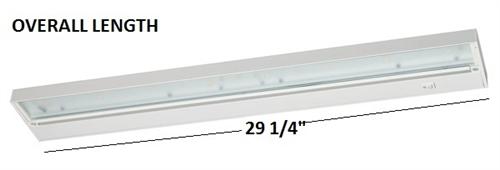 Juno Undercabinet Lighting UPL30-WH 30 - Juno Under Cabinet Lights Cymun Designs
