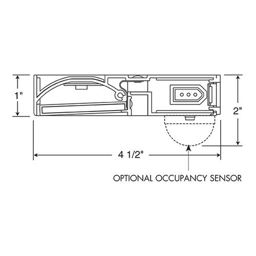 Juno Under Cabinet Lighting Led UPLED30-NS-BL-CP6 30