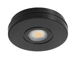 Juno Undercabinet Lighting USTL1-3K-BL Solo-Task LED, Surface Mount, 3000K Color Temperature, Black Finish