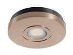 Juno Undercabinet Lighting USTL1-3K-BZ Solo-Task LED, Surface Mount, 3000K Color Temperature, Bronze Finish