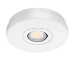 Juno Undercabinet Lighting USTL1-3K-WH Solo-Task LED, Surface Mount, 3000K Color Temperature, White Finish