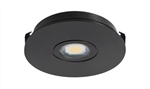 Juno Undercabinet Lighting USTLR1-3K-BL Solo-Task LED, Recessed Mount, 3000K Color Temperature, Black Finish