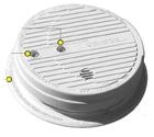 Kidde 1296 (1296E) 120V UTHA / UTGT Compliant Wire-in ionization Smoke Alarm