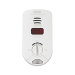 Kidde KN-COP-DP-10YB (900-0282) Worry-Free Bedroom Plug-in Carbon Monoxide Alarm with Sealed Lithium Battery Backup, Digital Display and Voice Alarm
