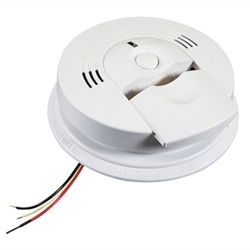 Kidde KN-COSM-IBA (900-0114A) (21006377N) AC Wire-In with Battery Back-Up Combination Carbon Monoxide & Smoke Alarm with Ionization Sensor