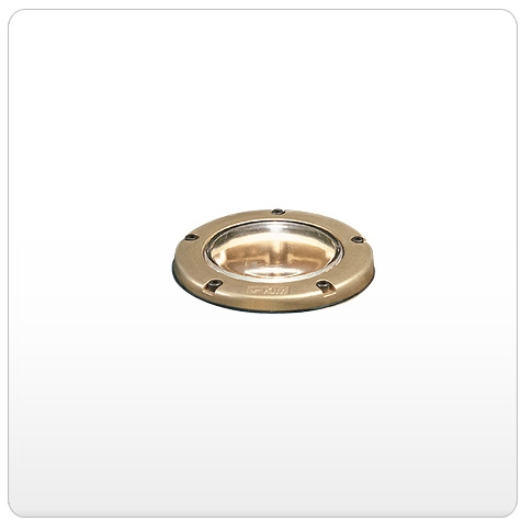 Kim Lighting LTV767SP 6L3K120 120 Volt Die Cast Brass LED In Grade Minivault