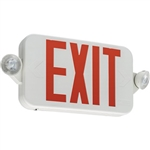 Lithonia ECC R M6 Single Face LED Combination Exit Sign - LED Lamp Heads
