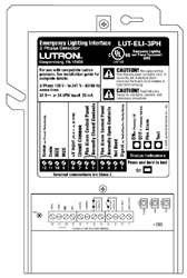 Lutron LUT-ELI-3PH Grafik Eye 3000 Emergency Lighting