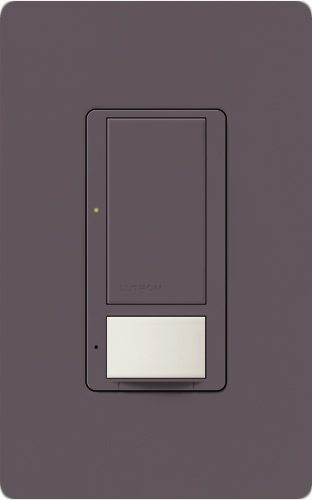 Lutron MS VPS6M DV PL (MS VPS6M2 DV PL) Maestro Switch With Vacancy Sensor  Dual Voltage ...