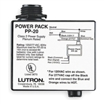 Lutron PP-20  Occupancy Motion Sensor Power Pack, 120 or 277 VAC Operating Voltage, 16A Lutron Ballast