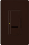 Lutron SPSF-S6AM-BR Spacer System 120V / 6A Digital Multi Location Switch in Brown