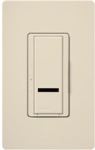 Lutron SPSF-S6AM-LA Spacer System 120V / 6A Digital Multi Location Switch in Light Almond