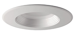 "Prescolite CDL6-8L30KA WH 6"" Recessed LED Downlight, 763 Lumens, 90 CRI, 3000K, ELV Dimming, 120V, White Trim"