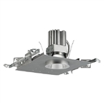 "Prescolite LF4LEDG4-120-4LFLED7G4-35K 4"" LED Commercial Downlight, 2000 Lumens, 80 CRI, 3500K, 0-10V Dimming, Clear Alzak Reflector"