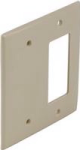 Square D Schneider Electric SLSWP2DBI Dual Cover Plate Deco/Blank, Ivory Color