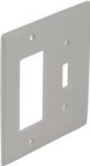 Square D Schneider Electric SLSWP2DTW Dual Cover Plate Deco/Toggle, White Color