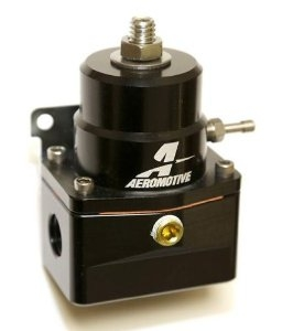 Aeromotive 13109B Fuel Pressure Regulator, Black