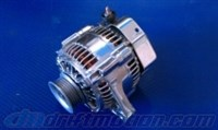 Polished 140 Amp Upgraded Alternator for 7M