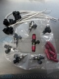 Bosch 1150cc Injector Set 14mm with Pigtail Clips