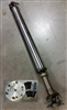 3 in. Steel Driveshaft For Aristo Auto Trans to 4 Bolt Diff Flange