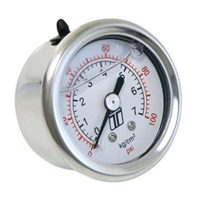 TurboSmart Fuel Pressure Gauge, 0-100 psi