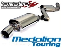 Tanabe Touring Medallion Exhaust for MK4 Supra