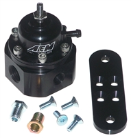 AEM Billet Adjustable Fuel Pressure Regulator 25-302BK